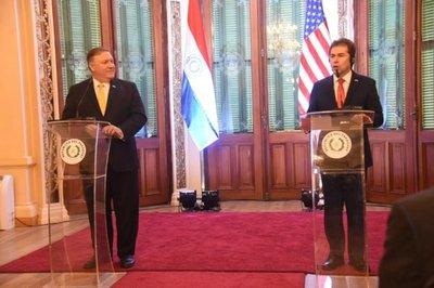 Paraguay y EEUU, unidos contra el 'tirano' Nicolás Maduro