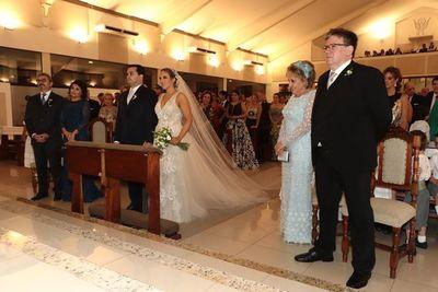 Andrea y Marcos se casaron