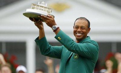 Épico triunfo de Tiger Woods en Augusta