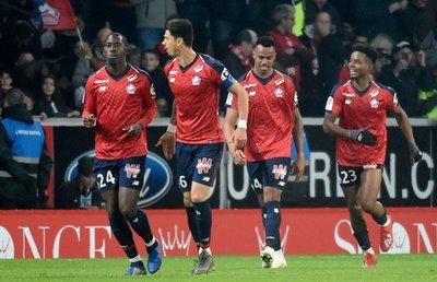 París SG cae goleado 5-1 en Lille