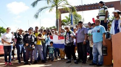 Comuna de J.A. Saldívar, en pie de guerra