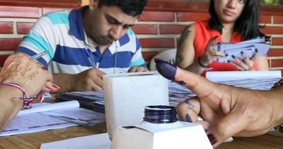 Elecciones municipales: Integrarán mesas receptoras de voto