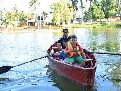 Habilitan paseo en canoa en el Parque Manuel Ortiz Guerrero