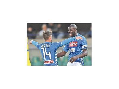 Nápoli e Inter ganan y Samp se lleva el clásico
