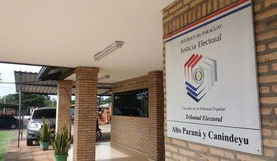 TSJE oficializó 5 candidaturas a intendente de CDE