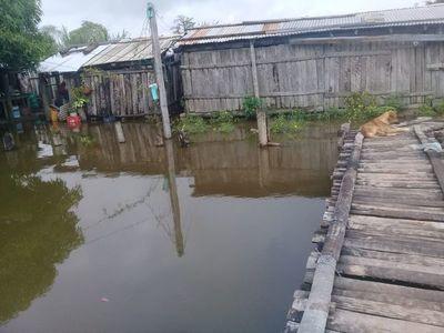 Crítica situación de varias comunidades indígenas del Chaco por inundaciones
