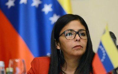 Delcy Rodríguez denuncia un complot de EEUU, Colombia y Brasil para agredir a Venezuela