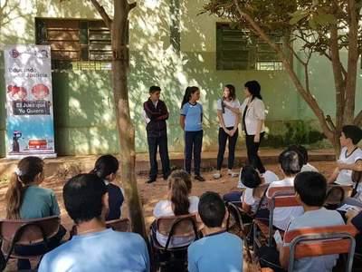 Alumnos del nivel escolar fueron capacitados sobre la función judicial