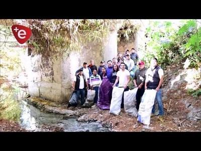 Con el reto viral Basura Challenge, buscan mantener limpio San Juan del Paraná