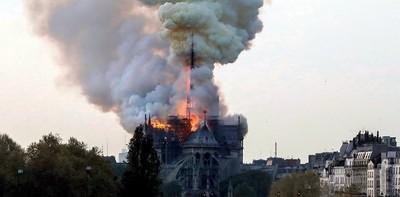La catedral de Notre Dame de París sufre un importante incendio