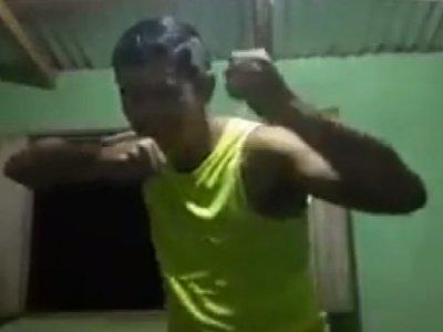 """Altoparanaense desafió a """"moquete amistoso"""" al hijo de Calé"""