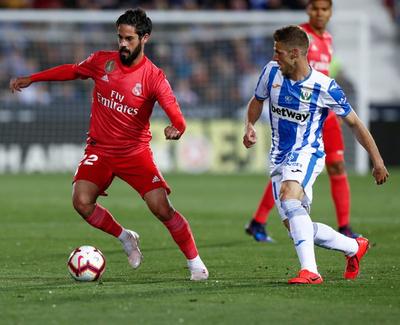 El Real Madrid iguala en su visita al Leganés