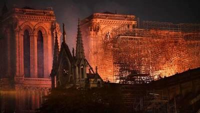 Mario Abdo se solidariza con Francia por incendio de la catedral de Notre Dame