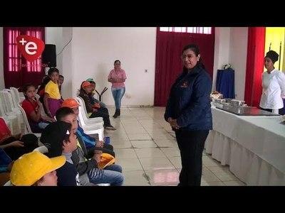 TALLER DE ELABORACION DE CHIPA A NIÑOS EN ENCARNACIÓN