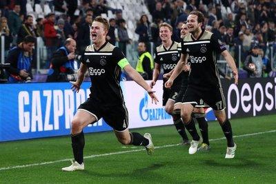 Juventus queda fuera de la Champions a manos del Ajax