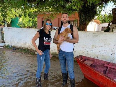 Buscan voluntarios para cuidar a mascotas rescatadas de inundaciones