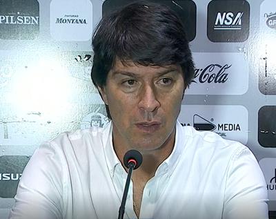 Garnero destacó el nivel que mostró Olimpia para superar a Luqueño