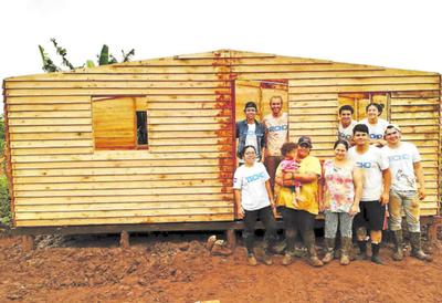 Techo invita a construir 20 casas en Semana Santa