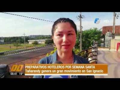 Preparativos hoteleros por semana santa