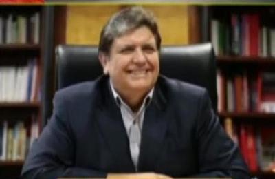 Confirman la muerte de Alan García, ex presidente de Perú