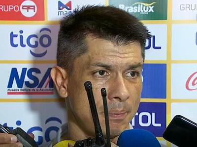 Gustavo Florentín habló de lo que fue el choque contra el Gumarelo