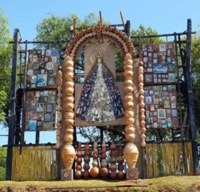 La Virgen de Caacupé estampada en Tañarandy