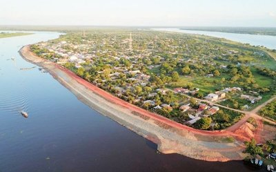Hidrología: Alberdi llegó al nivel de desastre
