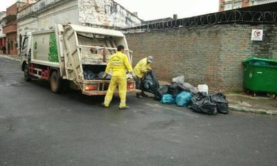 Recolección de basuras se realizará con normalidad en días santos en Asunción