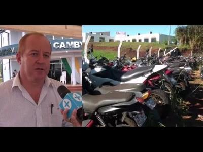 ALTO PORCENTAJE DE MENORES AL MANDO DE MOTOCICLETAS EN CAMBYRETA
