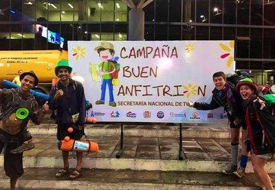 """Campaña """"Paraguay Buen Anfitrión"""" finaliza con éxito en el Aeropuerto"""