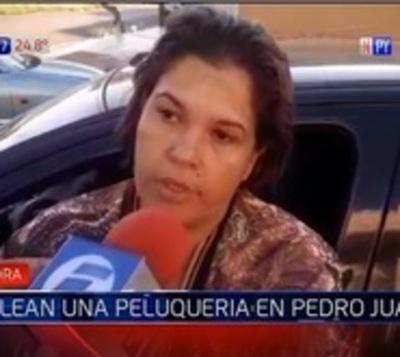 Balean peluquería de defensora de animales en Pedro Juan Caballero