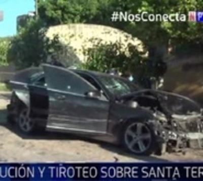 Joven protagoniza larga persecución en avenidas de Asunción
