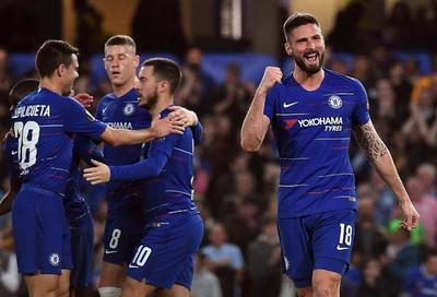 En un tiempo, Chelsea liquidó el pleito y avanza a semifinales