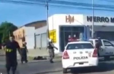Circuito cerrado grabó momento del tiroteo en Santa Teresa