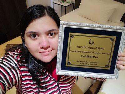 Histórico: una paraguaya estará en el mundial de ajedrez
