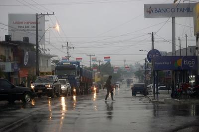 Alerta de lluvias de forma generalizada en el país