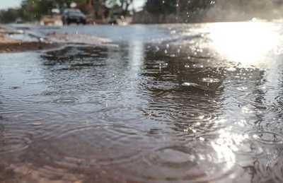 Se anuncian una jornada cálida con lluvias y ocasionales tormentas eléctricas