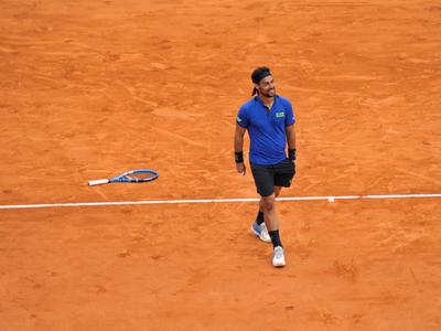 Rafael Nadal cae ante Fabio Fognini en Montecarlo