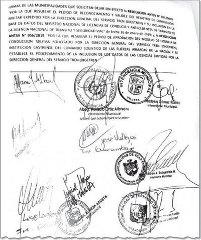 Atacan de ilegal permiso otorgado a los militares para expedir licencias