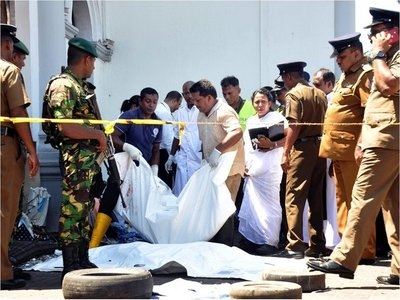 Mario Abdo Benítez condena ataque terrorista en Sri Lanka