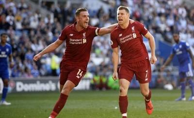 HOY / Wijlnaldum y Milner sostienen al Liverpool en el liderato