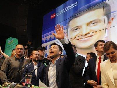 Humorista gana la Presidencia ucraniana