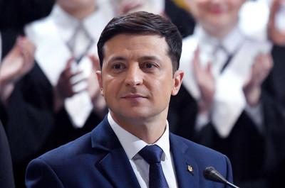 Un actor cómico es el nuevo presidente electo de Ucrania