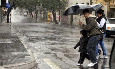Tiempo inestable y con lluvias persistirá hoy
