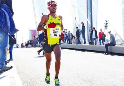 Ayala parte para correr Maratón de Londres