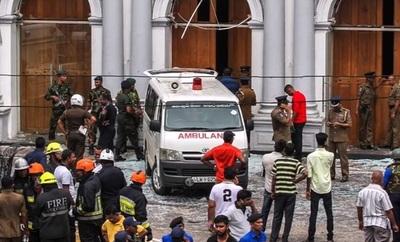 Sri Lanka: Casi 300 muertos y gobierno habla de posibles responsables