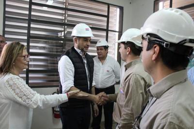 Importante inversión de la ANDE en subestación de Presidente Franco
