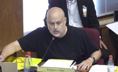 Payo Cubas presenta acción inconstitucional contra suspensión