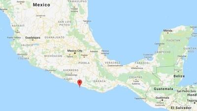 Registran sismo de magnitud 5,5 en México