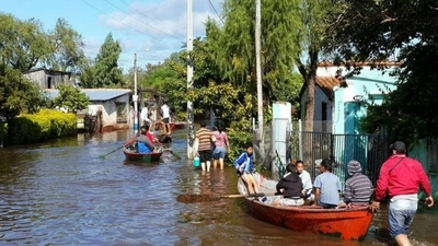 Hallan cadáver de un joven  desaparecido en una zona  de viviendas inundadas